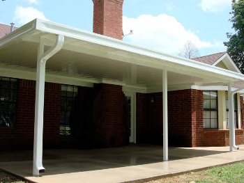 East Text Patio Cover